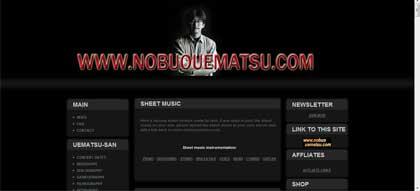 Web oficial del pianista creador de las bandas sonoras de Final Fantasy
