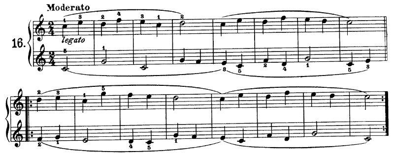 Esercizio N16 Beyer Op101 Lezione N20 Pianosolo Il Portale
