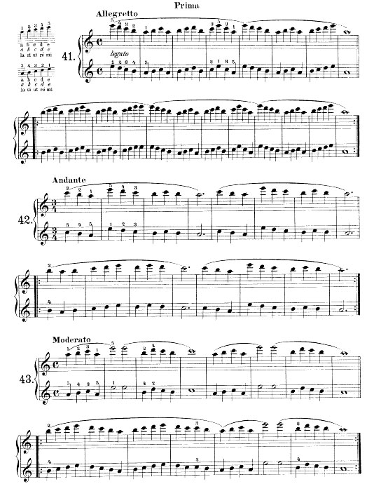 beyer op.101 es.41-42-43