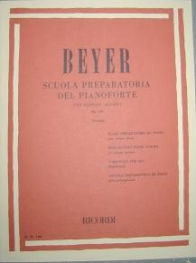 Ferdinand Beyer - Scuola preparatoria op.101 RICORDI