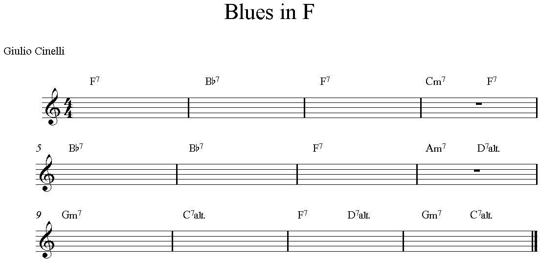 Blues in Fa