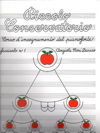 Piccolo conservatorio libro per pianoforte