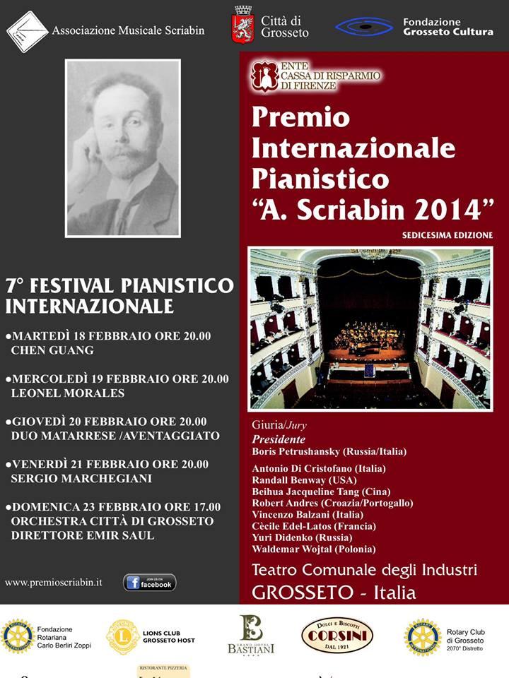 programma Scriabin 2014