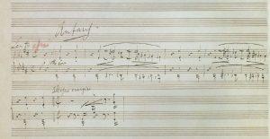 manoscritto 1 pagina