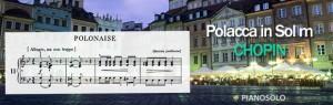 Polacca in Sol minore KK IIa/1 - Spartito