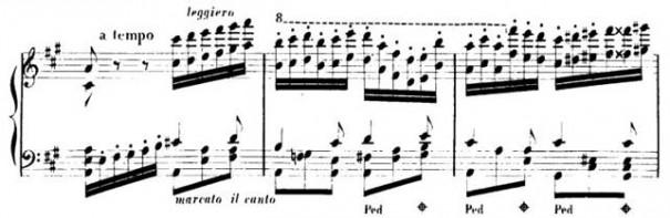 Barcarolle Op.60 - S.Thalberg