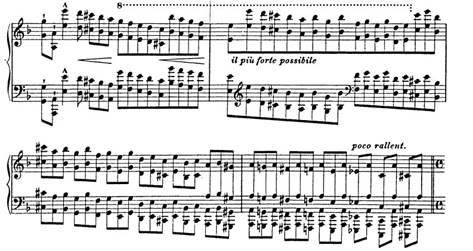 "Studio trascendentale ""Mazzeppa"" - F.Liszt"
