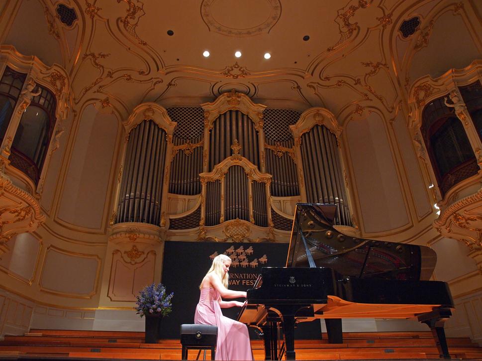 Concorso pianistico stainway 2015