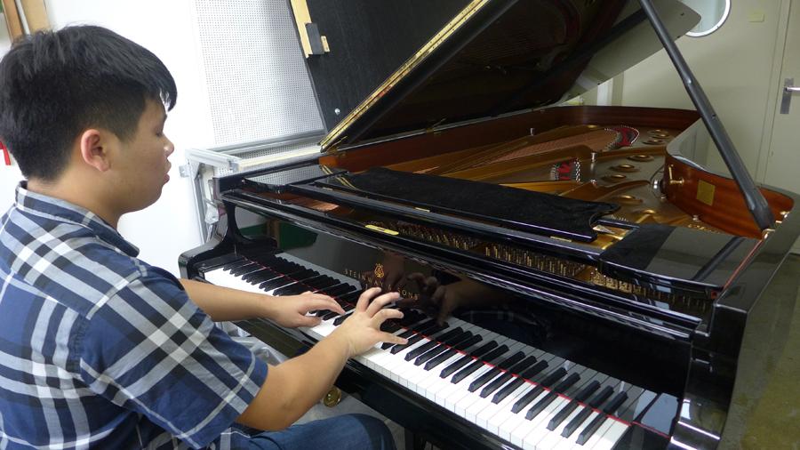 Esecuzione per concorso pianistico steinway