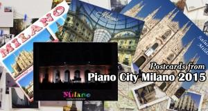 cartoline da piano city milano