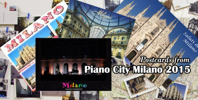 cartoline da piano city milano