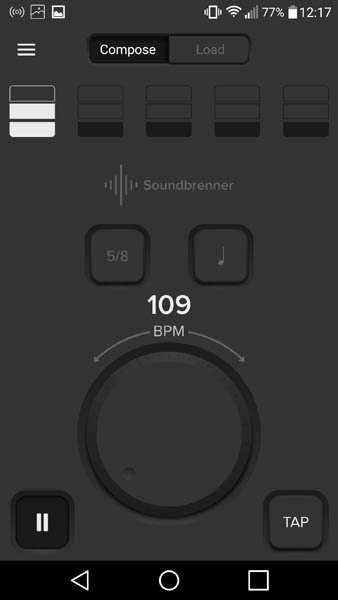 Metronome app android