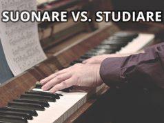 studiare e suonare il pianoforte