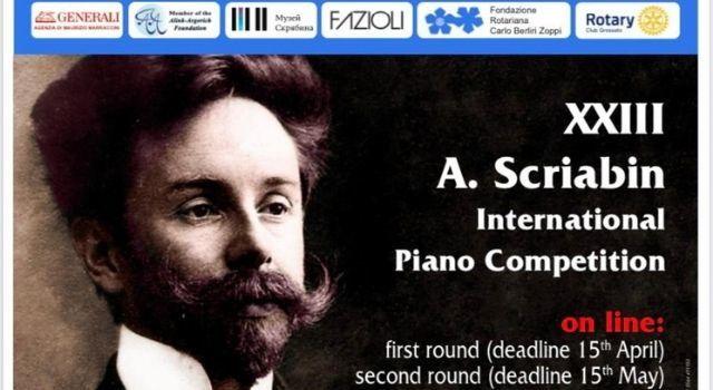 Premio internazionale pianistico Scriabin 2021