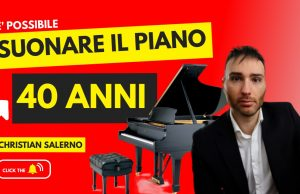 suonare il pianoforte da adulti